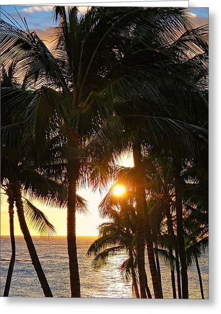 Waikoloa Palms Greeting Card