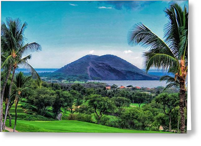 Wailea Golf 6 Greeting Card