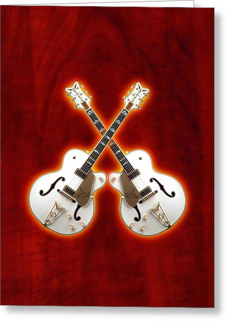 Waite Gretsch Greeting Card by Doron Mafdoos