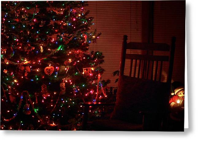 Waiting For Christmas - Square Greeting Card