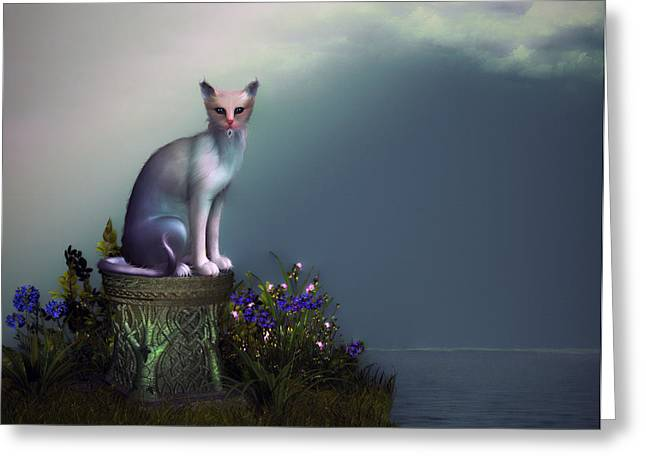Waiting For His Return Greeting Card by Tyler Robbins