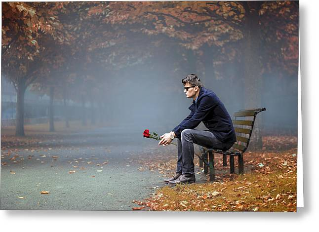 Waiting For Love Photograph By Mihai Medves