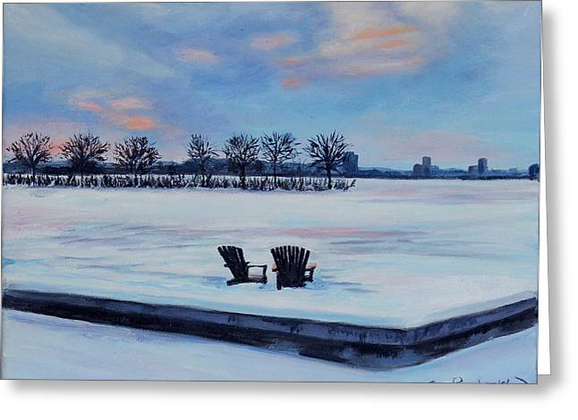 Waiting For Spring Greeting Card by Sue Birkenshaw