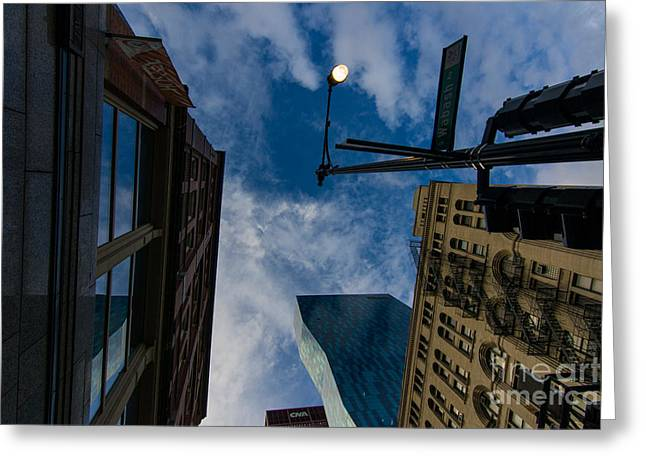 Waiting For Superman Greeting Card by Will Cardoso