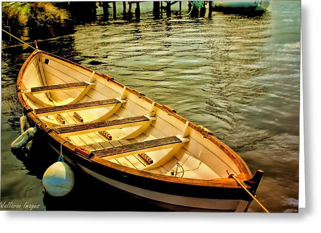 Waiting For The Fisherman Greeting Card by Wallaroo Images