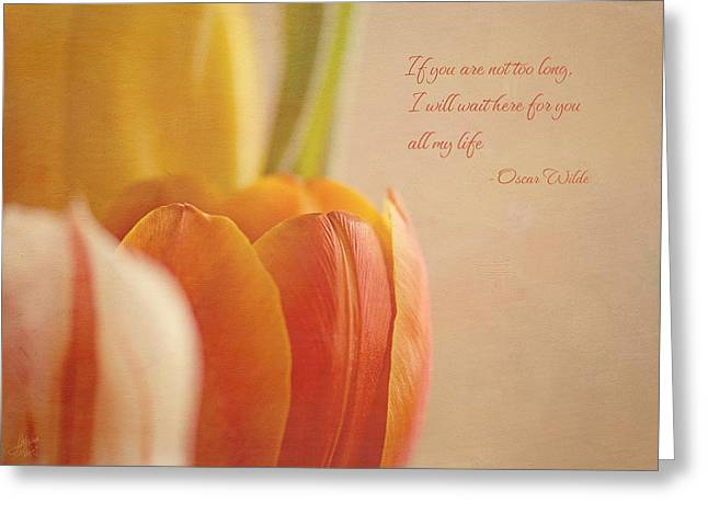 Waiting For You Greeting Card by Lisa Knechtel