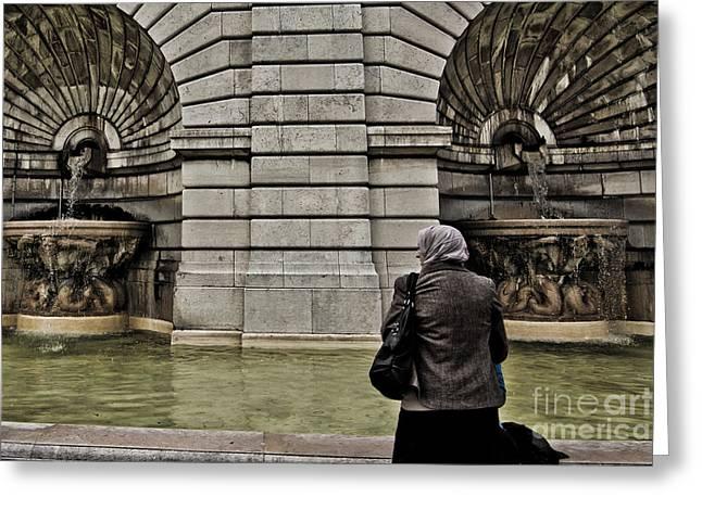 Waiting... Wishing... Greeting Card by Will Cardoso