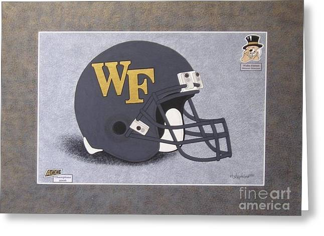 Wake Forest T-shirt Greeting Card
