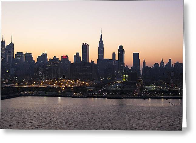 Wake Up Big Apple Greeting Card