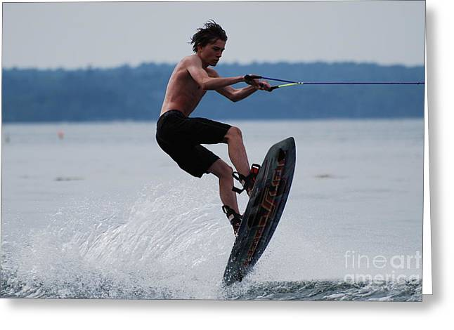 Wakeboarder Greeting Card