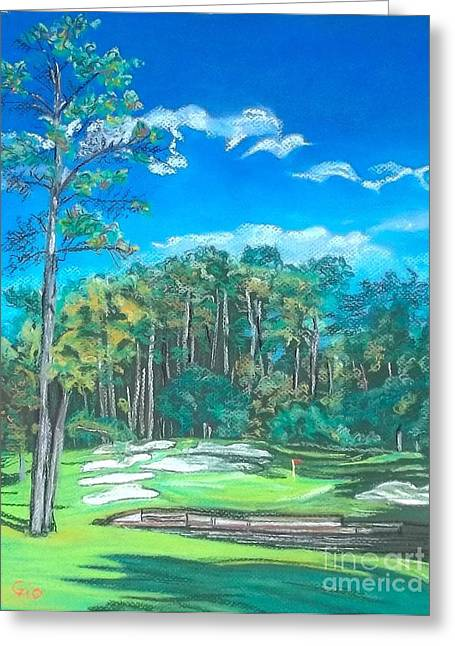 Walden On Lake Conroe Hole 8 Greeting Card by Frank Giordano