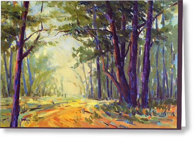 Walk In The Woods 5 Greeting Card