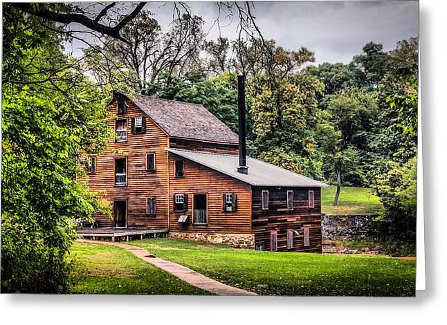 Walk To The Mill Greeting Card by Ray Congrove