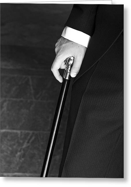 Walking Cane Greeting Card