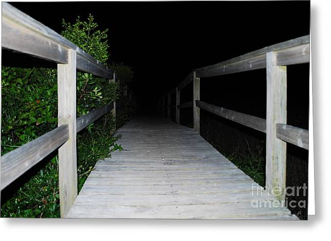 Walkway To The Beach Greeting Card by Bob Sample