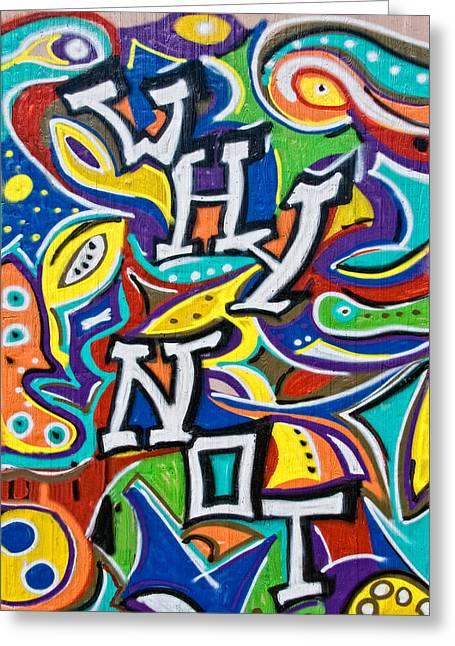 Wall-art 025 Greeting Card by Joachim G Pinkawa