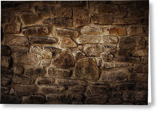 Wall Greeting Card by Les Cunliffe