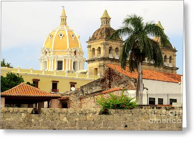 Walled Cathedrals Greeting Card