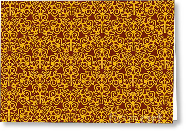 Wallpaper For Textile Greeting Card