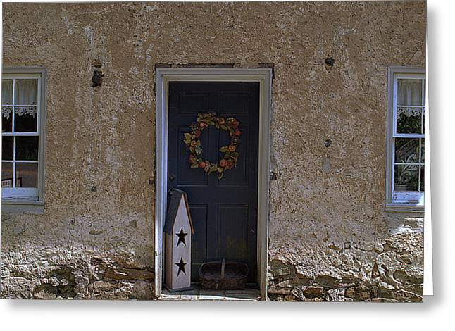 Walls And Windows Greeting Card by M Hess