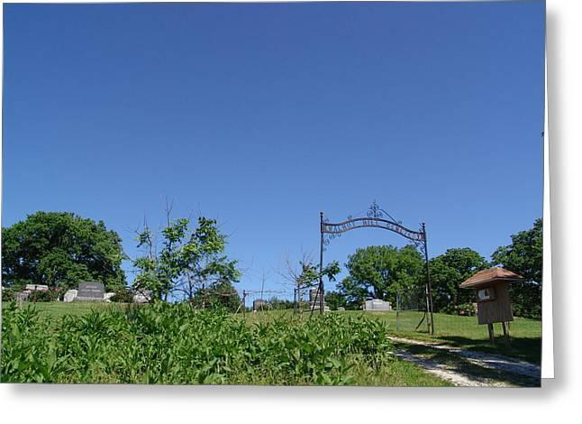 Walnut Hill Cemetery Greeting Card