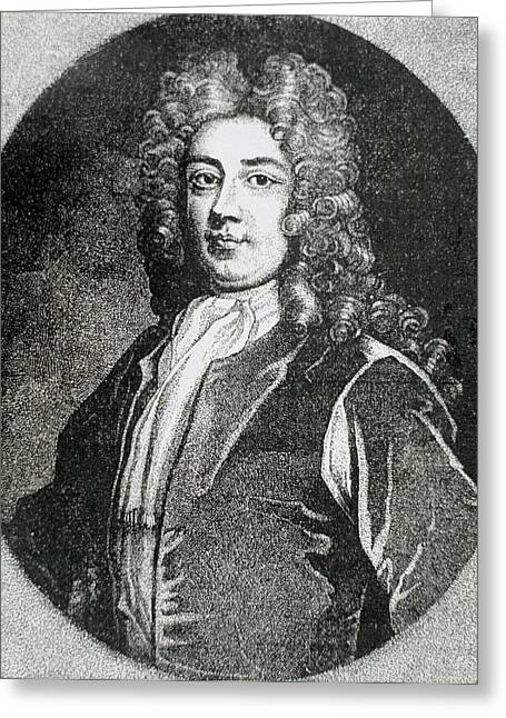 Walpole, Sir Robert (houghton Greeting Card by Prisma Archivo