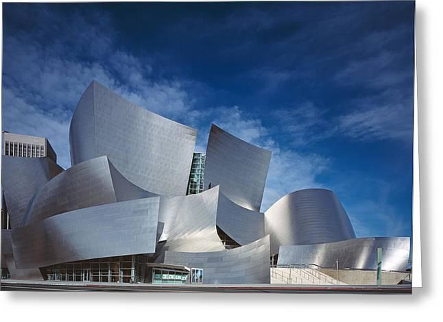 Walt Disney Concert Hall Greeting Card by Carol Highsmith