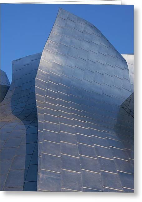 Walt Disney Concert Hall Greeting Card by Mark Williamson
