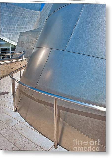 Walt Disney Concert Hall Music Hall Downtown Los Angeles Ca 3 Greeting Card by David Zanzinger