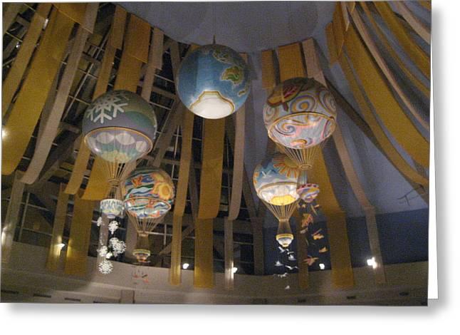 Walt Disney World Resort - Epcot - 121225 Greeting Card