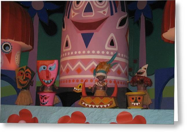 Walt Disney World Resort - Magic Kingdom - 1212121 Greeting Card by DC Photographer