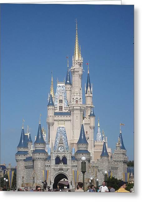 Walt Disney World Resort - Magic Kingdom - 1212129 Greeting Card by DC Photographer