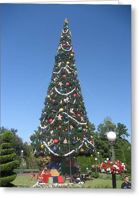 Walt Disney World Resort - Magic Kingdom - 1212132 Greeting Card by DC Photographer