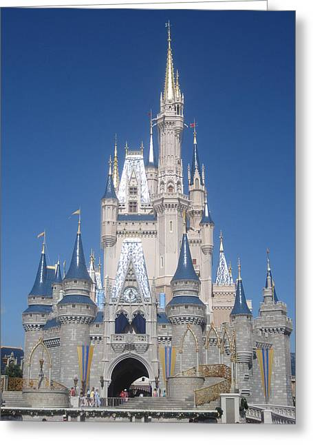Walt Disney World Resort - Magic Kingdom - 1212134 Greeting Card