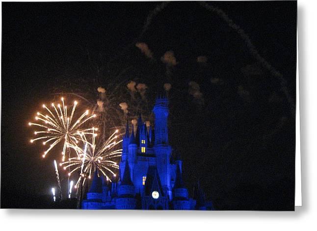 Walt Disney World Resort - Magic Kingdom - 121224 Greeting Card by DC Photographer