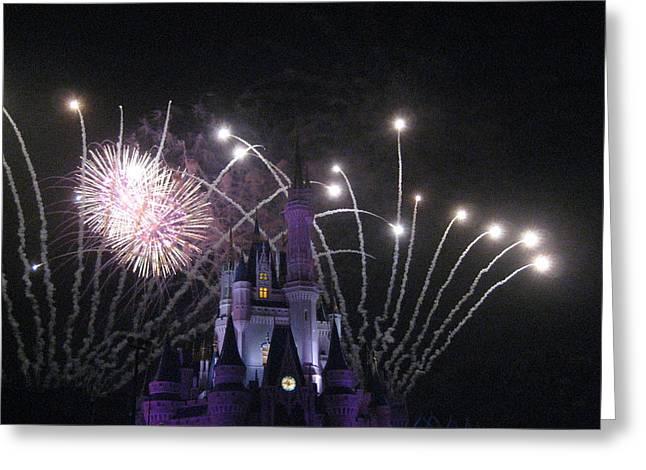 Walt Disney World Resort - Magic Kingdom - 121230 Greeting Card