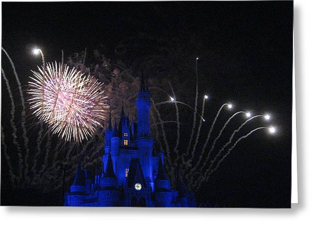 Walt Disney World Resort - Magic Kingdom - 121231 Greeting Card