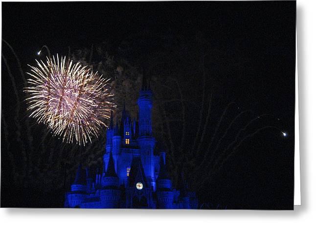 Walt Disney World Resort - Magic Kingdom - 121232 Greeting Card by DC Photographer