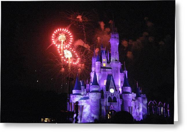 Walt Disney World Resort - Magic Kingdom - 121239 Greeting Card