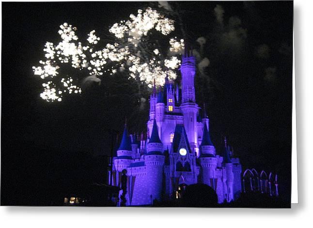 Walt Disney World Resort - Magic Kingdom - 121244 Greeting Card by DC Photographer