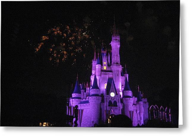 Walt Disney World Resort - Magic Kingdom - 121246 Greeting Card by DC Photographer