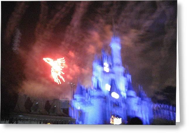 Walt Disney World Resort - Magic Kingdom - 121257 Greeting Card by DC Photographer