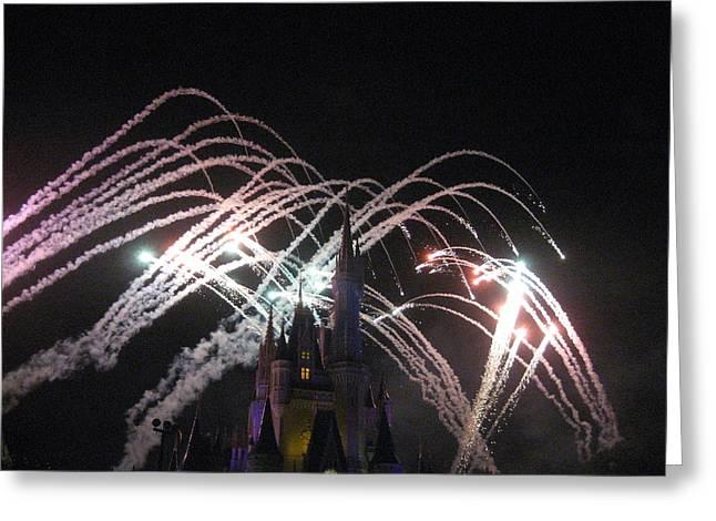 Walt Disney World Resort - Magic Kingdom - 121263 Greeting Card by DC Photographer