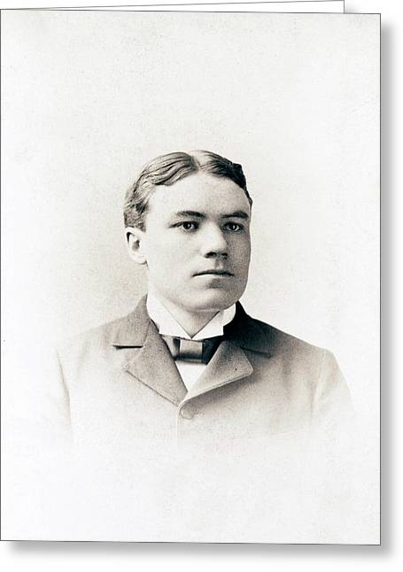 Walter Cannon Greeting Card
