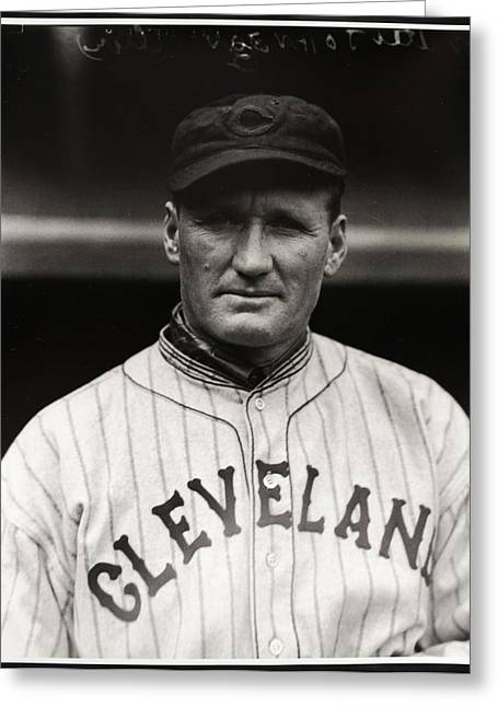 Walter Johnson Greeting Card by Gianfranco Weiss