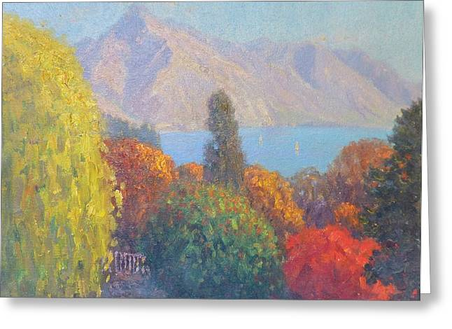 Walter Peak Queenstown Nz Greeting Card by Terry Perham
