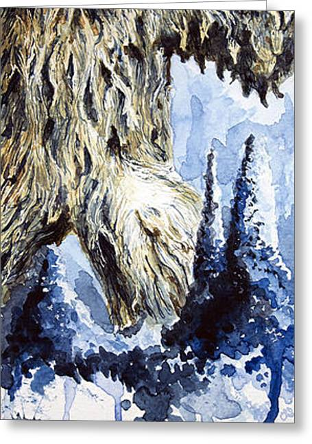 Wampa Greeting Card