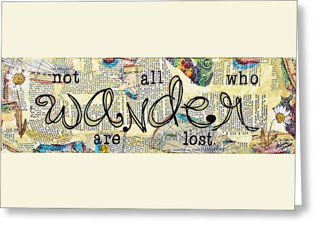 Wander Greeting Card