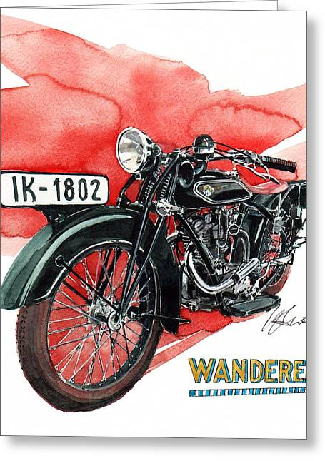 Wanderer Typ 708 Greeting Card
