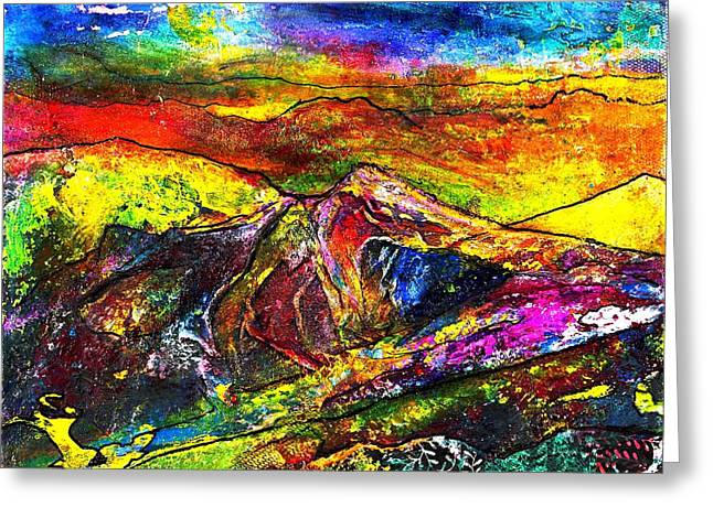 Wandering Greeting Card by Wendy Butler
